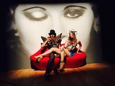 #surrealism #salvadordali #masculine #feminine #armor #glam #costume #headpiece #circus #avantgarde #ambiance #lucentdossier #lucentdossierexperience #evententertainment