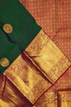 Color : Red And Green Saree Fabric : Soft SilkBlouse Fabric : Soft SilkSaree Size : Mtr Blouse Size : Mtr Informations About Color : Red And Green Saree Fabric : Soft SilkBlouse Fabric : Soft Kanjivaram Sarees Silk, Kanchipuram Saree, Pure Silk Sarees, Mysore Silk Saree, Wedding Saree Blouse Designs, Silk Saree Blouse Designs, Blouse Patterns, Saris, South Silk Sarees