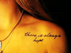 Small Shoulder Sexy Love Quote Tattoos for Girls - Cute Love Quote Tattoos #qoute # tattoo #shoulder