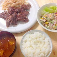 肉!!とうるさい旦那様の為の肉定食 - 17件のもぐもぐ - 肉 by 0409p