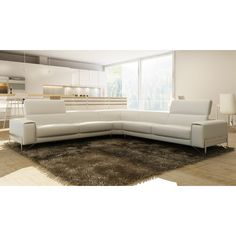 Tips That Help You Get The Best Leather Sofa Deal. Leather sofas and leather couch sets are available in a diversity of colors and styles. A leather couch is the ideal way to improve a space's design and th Modular Sectional Sofa, Leather Sectional Sofas, Modern Sectional, Couches, Sectional Furniture, Cheap Patio Furniture, Pallet Furniture, Furniture Nyc, Buy Furniture Online