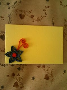 Simple Quilled Envelope