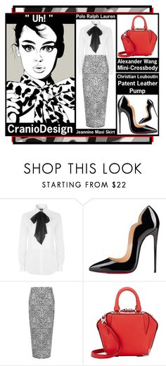 """""""Artistic Inspiration - Uh! by CranioDesign"""" by latoyacl ❤ liked on Polyvore featuring Polo Ralph Lauren, Christian Louboutin, WearAll, Alexander Wang and Curioos"""