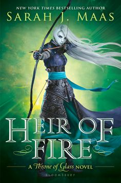 Heir of Fire (Throne of Glass by Sarah J. Royal assassin Celaena must travel to a new land to confront a truth about her heritage, while brutal and monstrous forces are gathering on the horizon, intent on enslaving her world. Ya Books, I Love Books, Great Books, Teen Books, Library Books, Throne Of Glass Books, Throne Of Glass Series, Fire Cover, Fire Book