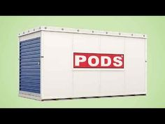 Need a mobile storage solution? PODS offers flexible and secure storage solutions that fits your needs, delivered to your door. Secure Storage, Self Storage, Storage Pods, Storage Containers, Pods Moving, Mobile Storage, Packing Supplies, Moving And Storage, Big Houses