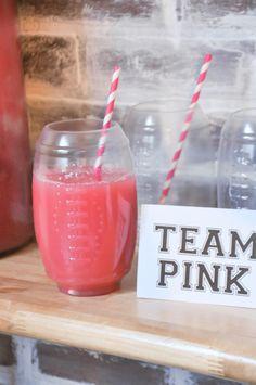 Kara's Party Ideas Pink + Blue Gender Reveal Punch Recipe | Kara's Party Ideas