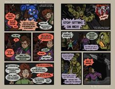 FNAF4 Comic - House Party - Page 66 - 5-7-17 by Mattartist25