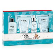 A four-piece set including a multitasking shower gel, lotion, scrub, and body spritz, all with the delicate scent of sweetly fallen snow.