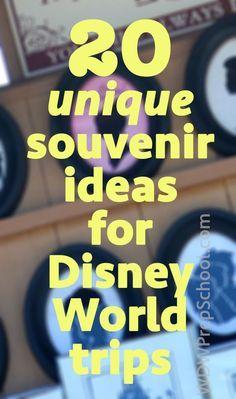 20 Disney World souvenir ideas (including tips on each)