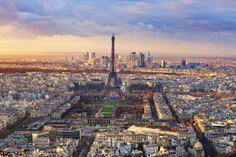 #Uitzicht over de #stad #Parijs. #Frankrijk #stedentrip #Eiffeltoren #monument #stad #travelbird