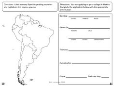 Ambitious image in spanish placement test printable