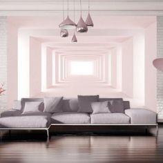 Vlies Fototapete 350x245 cm - 3 Farben zur Auswahl - Top - Tapete - Wandbilder XXL - Wandbild - Bild - Fototapeten - Tapeten - Wandtapete - Wand - Tunnel 3D a-A-0124-a-b: Amazon.de: Küche & Haushalt