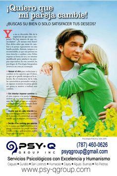 Consejos para Parejas en Crisis ●Psy-Q Group, Inc.● Servicios Psicológicos● (787)460-0626● www.psy-qgroup.com
