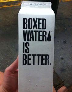 Fancy - Boxed Water Is Better