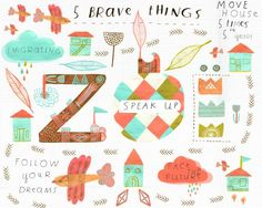 5 Brave Things by Zoe Ingram