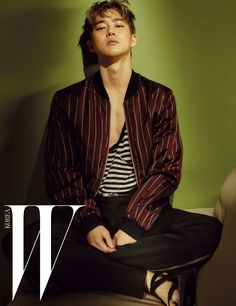 Suho (EXO) - W Magazine July Issue '16
