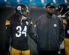 DeAngelo Williams and Coach Mike Tomlin