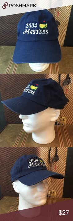 2004 Augusta Masters Blue Hat National One Size This listing is for a 2004 Augusta Masters Blue Hat.  Phil Mikelson was the 2004 Winner.  One Size.  American Needle ... One size adjustable strap. American Needle Accessories Hats