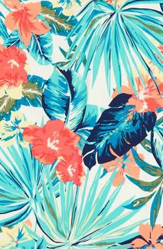 Resultado de imagen para tropical print wallpaper