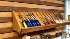 french cleat storage system - Google Search