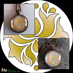 Tulipános nyaklánc (kedo) - Meska.hu Ale, Pendant Necklace, Jewelry, Jewlery, Bijoux, Jewerly, Ales, Jewelery, Drop Necklace