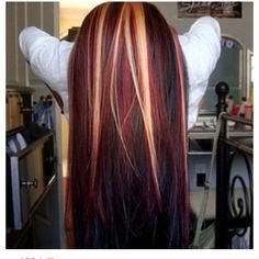 love the colors and the combinations. great for fall hair