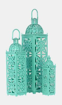 3-Piece Ishak Candle Lantern Set