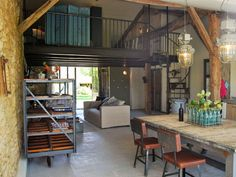Un hotel rural en Francia con aires industriales   Decorar tu casa es facilisimo.com