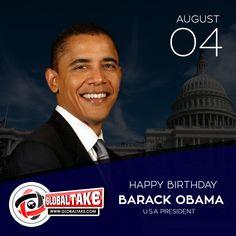 Birthday Wishes to Mr President Barack Obama