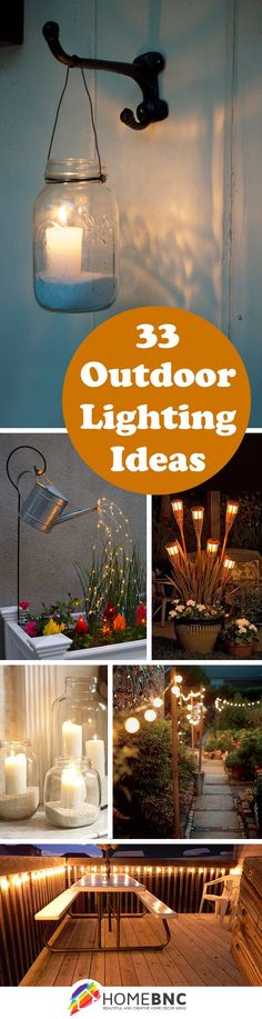 Outdoor Lighting Decor Ideas