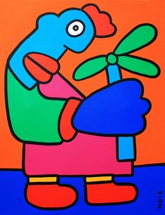 Flower-for-the-people-of-berlin - Thierry Noir