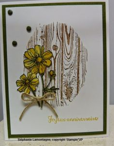Passion scrapbooking: Bloom with hope and Hardwood Stampin'Up stamp set