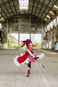 lainray(御貓) Kyoko Sakura Cosplay Photo - Cure WorldCosplay
