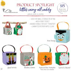 Fall 2019 – Little Carry-All Caddy, holiday – Deine Thirty One Halloween, Thirty One Fall, Thirty One Party, Thirty One Gifts, Thirty One Catalog, 31 Party, Thirty One Business, Thirty One Consultant, 31 Bags