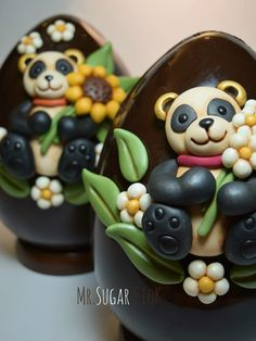 "Easter Eggs with ""Bears"".."