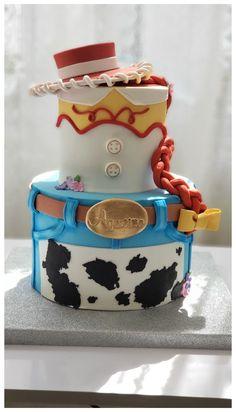 Cumple Toy Story, Festa Toy Story, Jessie Toy Story, Toy Story Theme, Toy Story Party, Toy Story Birthday Cake, 3rd Birthday, Birthday Ideas, Peppa E George
