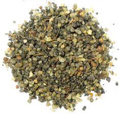 Incenso em resina de mistura balsâmica com mirra e óleos essenciais