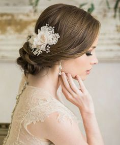 Pin On Beautiful Bride Hairstyle Ideas
