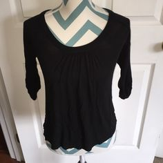 New York & Co. Top Like new black 3/4 sleeve top. So soft and comfy, it will become your favorite. No flaws! New York & Company Tops