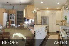 Ben & Ellen's Downers Grove Kitchen Before and After Buying A New Home, Large Homes, Portfolio, Small Rooms, Home Improvement Projects, Home Remodeling, Kitchen Remodeling, Cheap Renovations, Remodeling Contractors