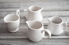I have quite a collection of white cream pitchers....can't have too many!
