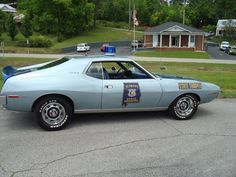 Specially Equipted Javelins with the AMC 401 cu.in. Engines where used as Alabama Highway Patrol Cars in the Early 1970's. AMC had a group of Performance Parts that could be purchased thru the dealerships,such as Aluminum Intakes with AMC part numbers.