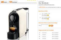 Máquina de Café Nespresso U C50 << R$ 27900 >>