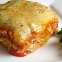 Chicken Roasted Garlic Lasagna