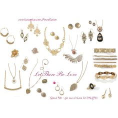 """""""Let There Be Love - Gold"""" by anne-barnes-eason on Polyvore"""