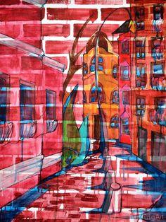 Brick- Sofia, Bulgaria by Denver artist Heidi Keyes