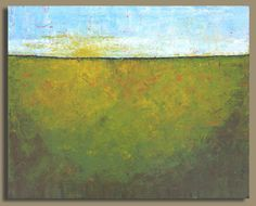 BOXING DAY SALE  prairie painting abstract by SageMountainStudio, $279.00