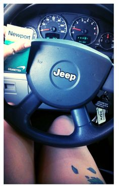::Jeep Life::Jeep Girl::Riding in Jeeps with boys::Newports::Turtle Thumb ring::silver thumb ring::favorite jewelry::never take it off::Love Love Jeep::Liberty::Moon Roof:: favorite car::Thigh tattoo::Lotus flower::purple ink::girls with ink::NoEllieFo2Oh