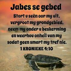Jabes se gebed.. Devotional Quotes, Bible Quotes, Bible Verses, Good Night Blessings, Morning Blessings, God Is Good Quotes, Best Quotes, Christian Poems, Prayer For Protection