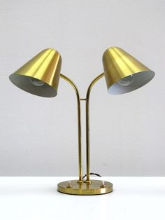 Jacques Biny Library Lamp 1950s